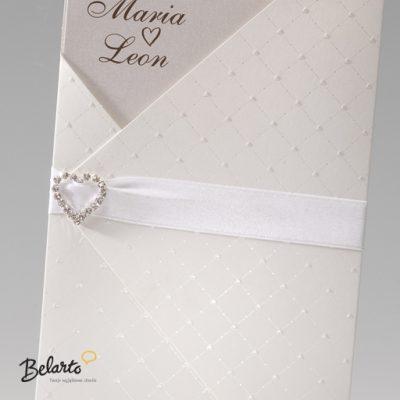 Zaproszenia Bella - Zaproszenie na Slub symbol 725004P 2 bella 400x400