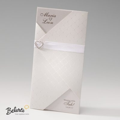 Zaproszenia Bella - Zaproszenie na Slub symbol 725004P bella 400x400