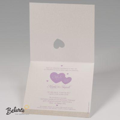 Zaproszenia Bella - Zaproszenie na Slub symbol 725006P 3 bella 400x400