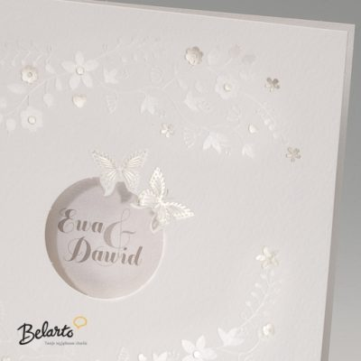 Zaproszenia Bella - Zaproszenie na Slub symbol 725008P 2 bella 400x400