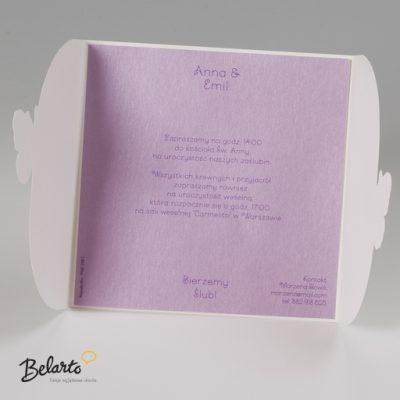 Zaproszenia Bella - Zaproszenie na Slub symbol 725009P 3 bella 400x400