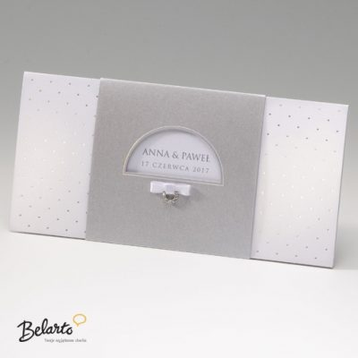 Zaproszenia Bella - Zaproszenie na Slub symbol 725010P bella 400x400