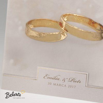 Zaproszenia Bella - Zaproszenie na Slub symbol 725011P 2 bella 400x400