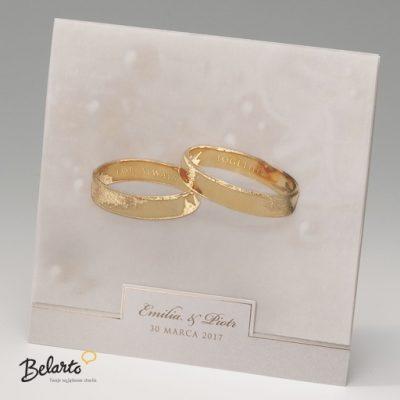 Zaproszenia Bella - Zaproszenie na Slub symbol 725011P bella 400x400