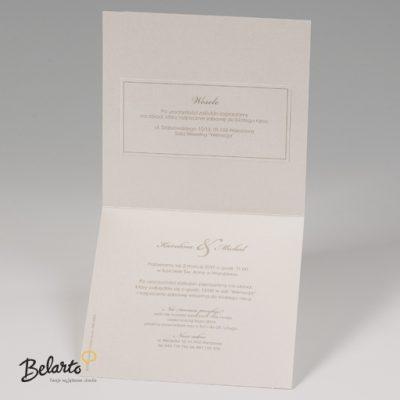 Zaproszenia Bella - Zaproszenie na Slub symbol 725014P 3 bella 400x400