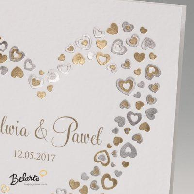 Zaproszenia Bella - Zaproszenie na Slub symbol 725018P 2 bella 400x400