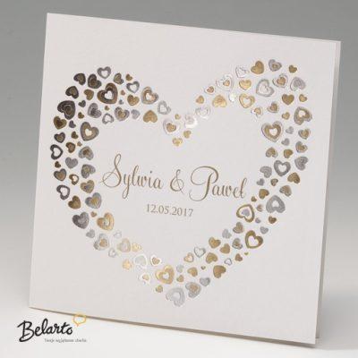 Zaproszenia Bella - Zaproszenie na Slub symbol 725018P bella 400x400