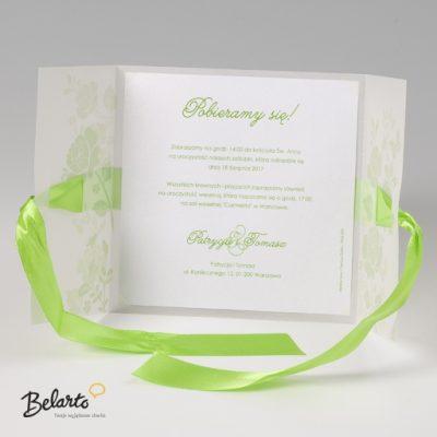 Zaproszenia Bella - Zaproszenie na Slub symbol 725019P 3 bella 400x400