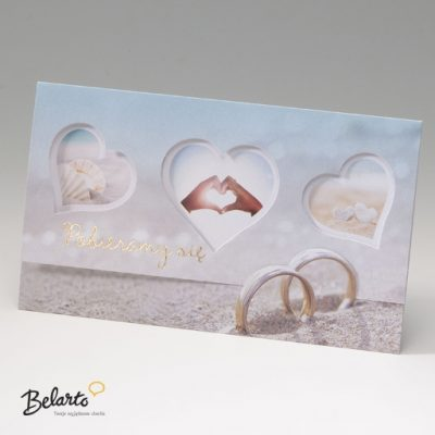 Zaproszenia Bella - Zaproszenie na Slub symbol 725020P bella 400x400