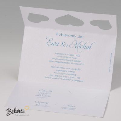 Zaproszenia Bella - Zaproszenie na Slub symbol 725020P 3 bella 400x400