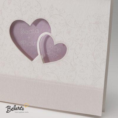 Zaproszenia Bella - Zaproszenie na Slub symbol 725022P 2 bella 400x400