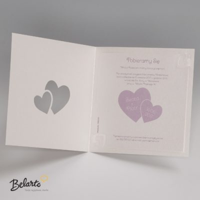 Zaproszenia Bella - Zaproszenie na Slub symbol 725022P 3 bella 400x400