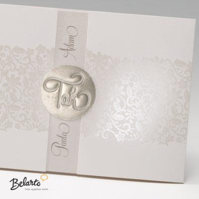 Zaproszenia Bella - Zaproszenie na Slub symbol 725023P 2 bella 400x400