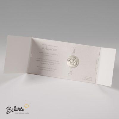 Zaproszenia Bella - Zaproszenie na Slub symbol 725023P 3 bella 400x400