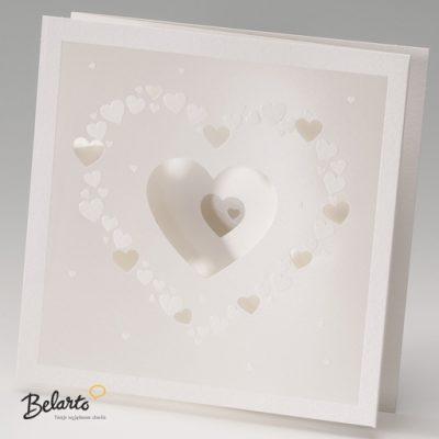 Zaproszenia Bella - Zaproszenie na Slub symbol 725025P bella 400x400