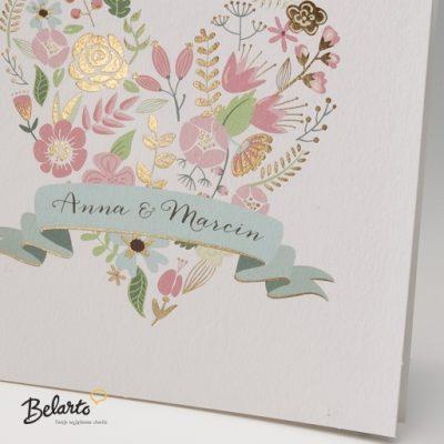 Zaproszenia Bella - Zaproszenie na Slub symbol 725026P 2 bella 400x400