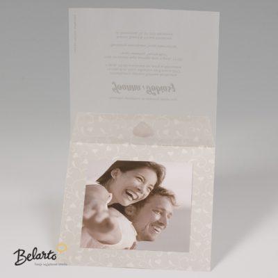 Zaproszenia Bella - Zaproszenie na Slub symbol 725029P 3 bella 400x400