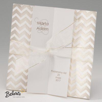 Zaproszenia Bella - Zaproszenie na Slub symbol 725030P bella 400x400
