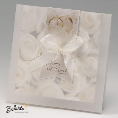 Zaproszenia Bella - Zaproszenie na Slub symbol 725031P bella 400x400
