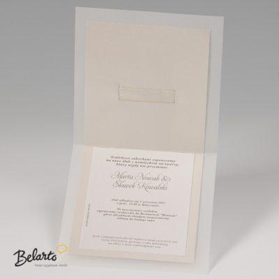 Zaproszenia Bella - Zaproszenie na Slub symbol 725031P 3 bella 400x400