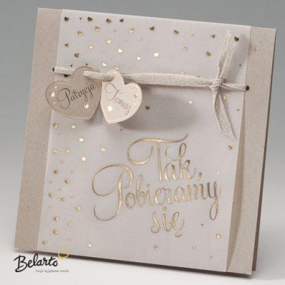 Zaproszenia Bella - Zaproszenie na Slub symbol 725032P bella 400x400