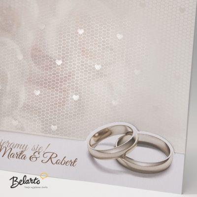 Zaproszenia Bella - Zaproszenie na Slub symbol 725033P 2 bella 400x400