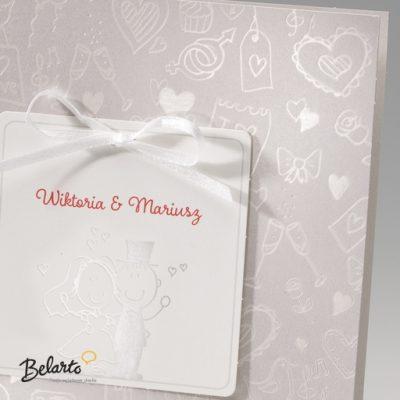 Zaproszenia Bella - Zaproszenie na Slub symbol 725036P 2 bella 400x400