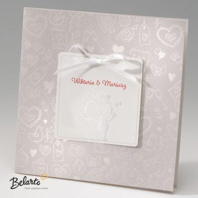 Zaproszenia Bella - Zaproszenie na Slub symbol 725036P bella 400x400