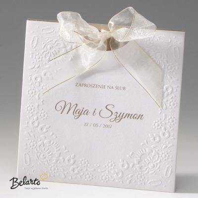 Zaproszenia Bella - Zaproszenie na Slub symbol 725037P 2 bella 400x400