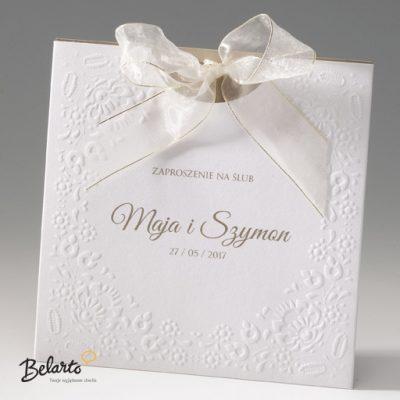 Zaproszenia Bella - Zaproszenie na Slub symbol 725037P bella 400x400