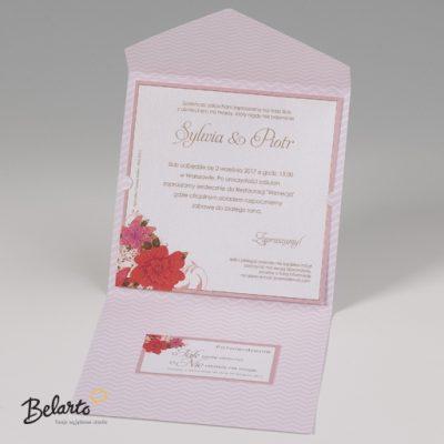 Zaproszenia Bella - Zaproszenie na Slub symbol 725038P 3 bella 400x400