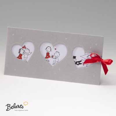 Zaproszenia Bella - Zaproszenie na Slub symbol 725039P bella 400x400