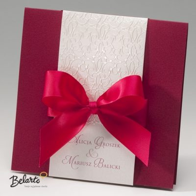 Zaproszenia Bella - Zaproszenie na Slub symbol 725042P bella 400x400