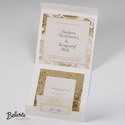 Zaproszenia Bella - Zaproszenie na Slub symbol 725043P 3 bella 400x400