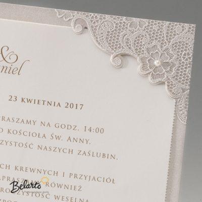 Zaproszenia Bella - Zaproszenie na Slub symbol 725048P 2 bella 400x400