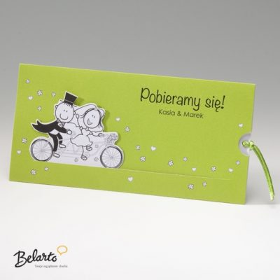 Zaproszenia Bella - Zaproszenie na Slub symbol 725050P bella 400x400