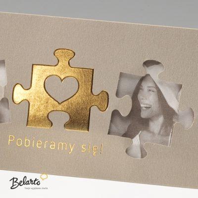 Zaproszenia Bella - Zaproszenie na Slub symbol 725054P 2 bella 400x400
