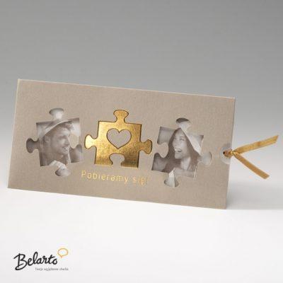Zaproszenia Bella - Zaproszenie na Slub symbol 725054P bella 400x400