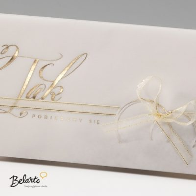 Zaproszenia Bella - Zaproszenie na Slub symbol 725074P 2 bella 400x400