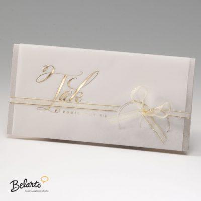 Zaproszenia Bella - Zaproszenie na Slub symbol 725074P bella 400x400
