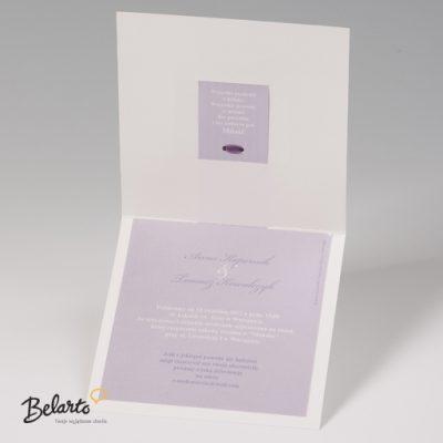 Zaproszenia Bella - Zaproszenie na Slub symbol 725075P 3 bella 400x400