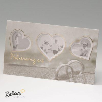 Zaproszenia Bella - Zaproszenie na Slub symbol 725079P bella 400x400