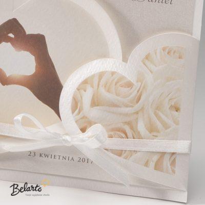 Zaproszenia Bella - Zaproszenie na Slub symbol 725080P 2 bella 400x400