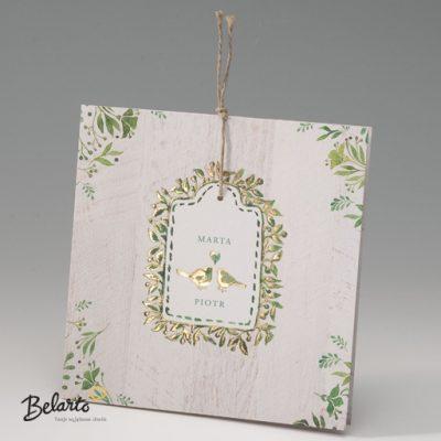 Zaproszenia Bella - Zaproszenie na Slub symbol 725082P bella 400x400