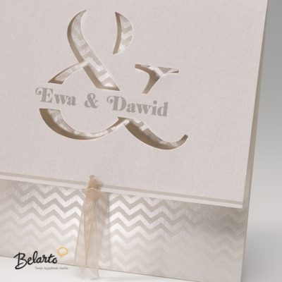 Zaproszenia Bella - Zaproszenie na Slub symbol 725083P 2 bella 400x400