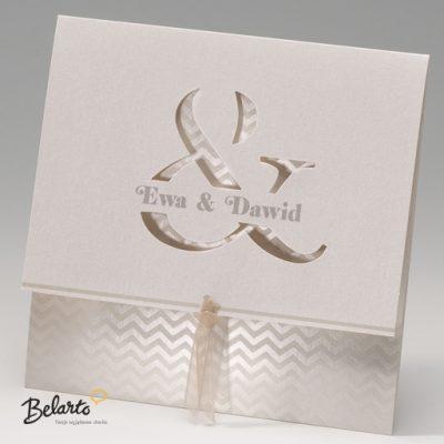 Zaproszenia Bella - Zaproszenie na Slub symbol 725083P bella 400x400