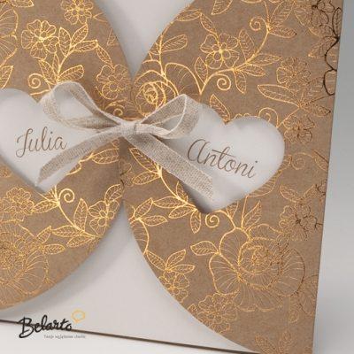 Zaproszenia Bella - Zaproszenie na Slub symbol 725085P 2 bella 400x400