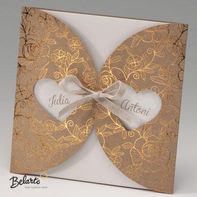 Zaproszenia Bella - Zaproszenie na Slub symbol 725085P bella 400x400