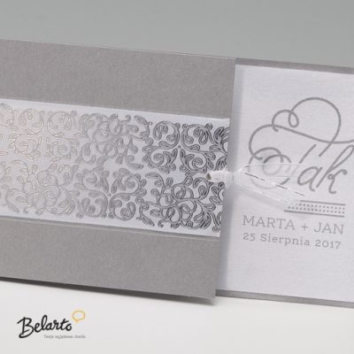 Zaproszenia Bella - Zaproszenie na Slub symbol 725086P 2 bella 400x400