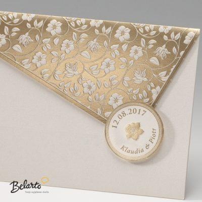 Zaproszenia Bella - Zaproszenie na Slub symbol 725088P 2 bella 400x400